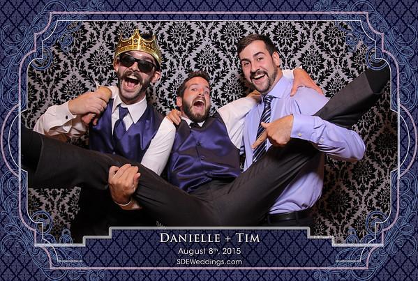 Danielle + Tim (08/08/2015)